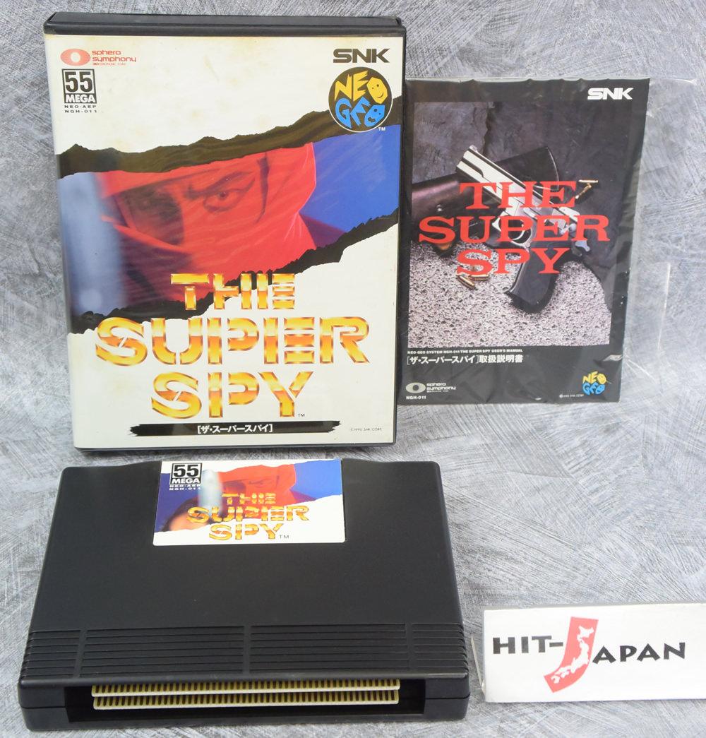 NEO GEO AES THE SUPER SPY SNK Neogeo FREE SHIPPING JAPAN