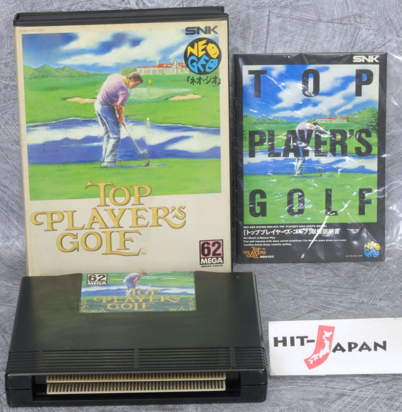 Details about TOP PLAYER'S GOLF NEO GEO AES FREE SHIPPING Ref/0701 SNK  neogeo JAPAN Game