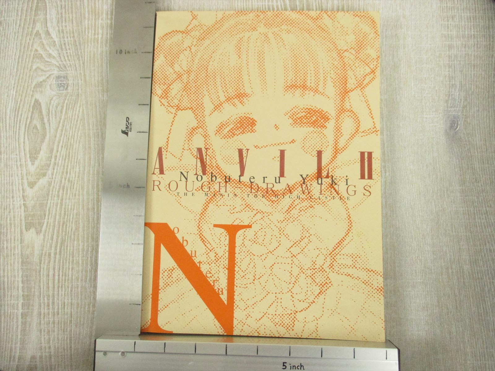 NOBUTERU YUKI Rough Drawing ANVIL II Art Design Illustration Book ...
