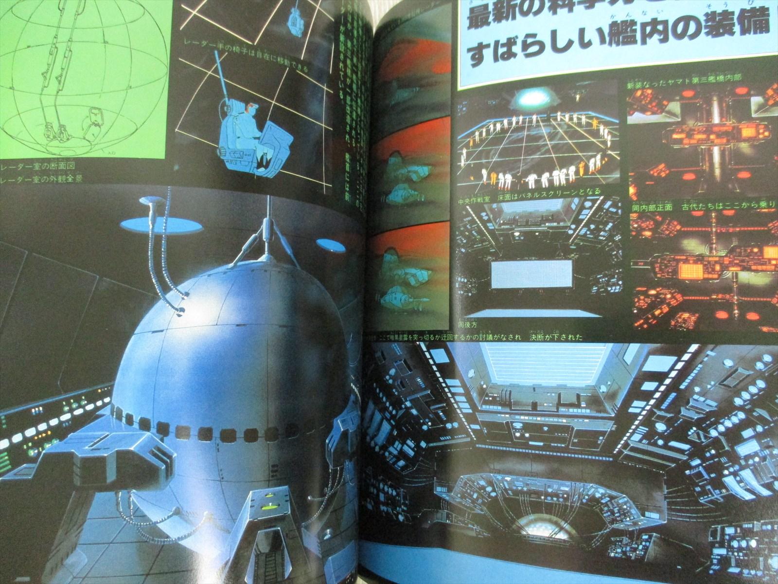 YAMATO YO EIEN NI Space Battleship Art w//poster Illustration Book *