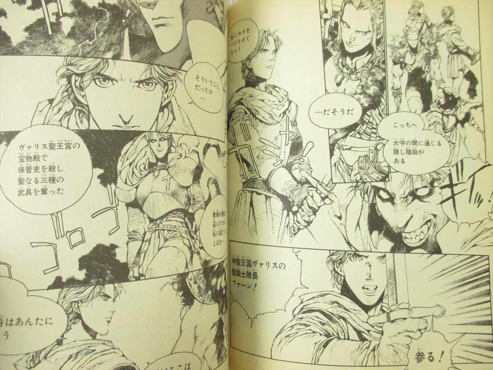 JAPAN Akihiro Yamada manga Record of Lodoss War Lady of Pharis 1~2 Complete Set