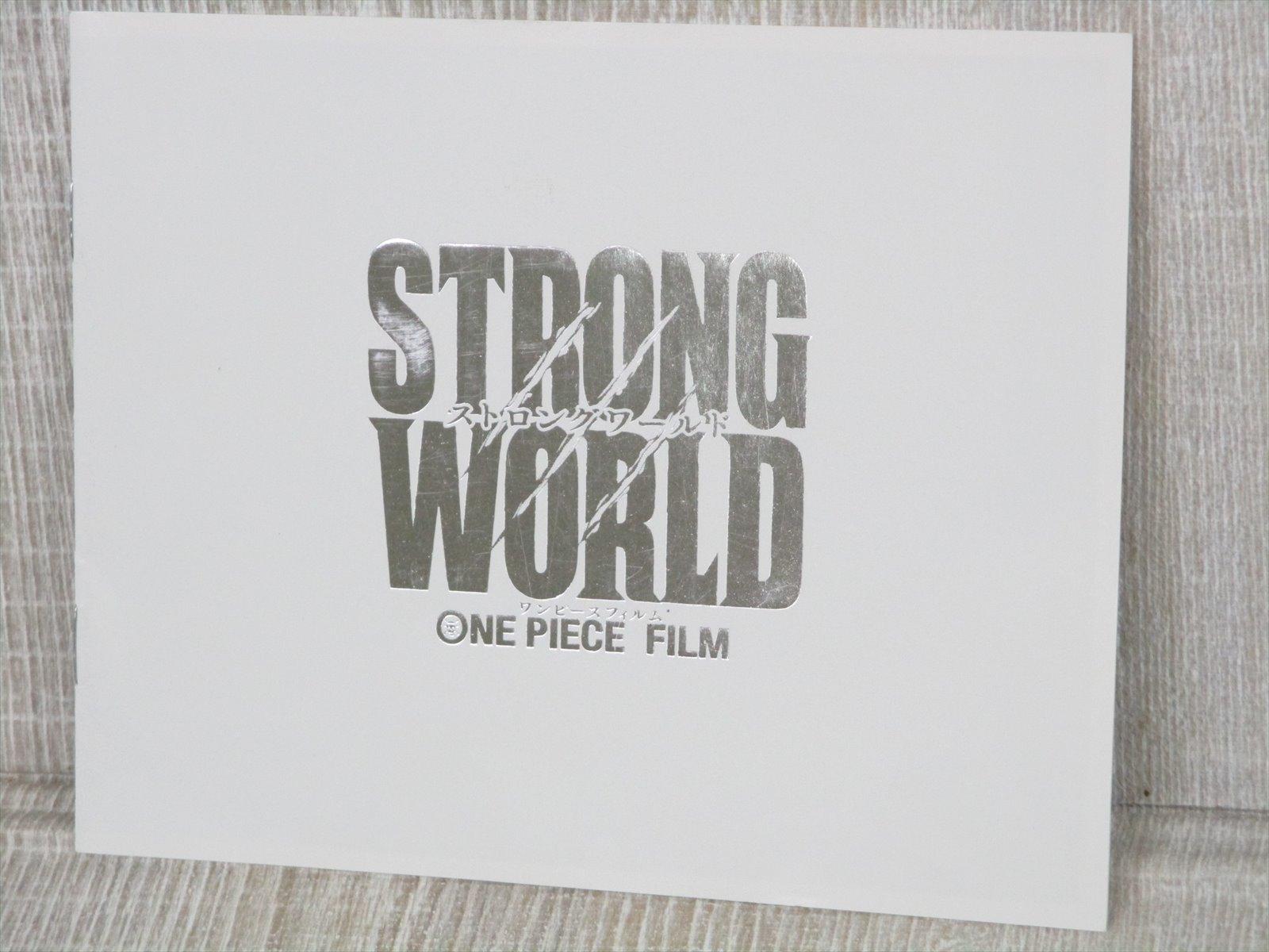 One Piece Film Strong World Art Works Fan Book Japan 2010 Ltd