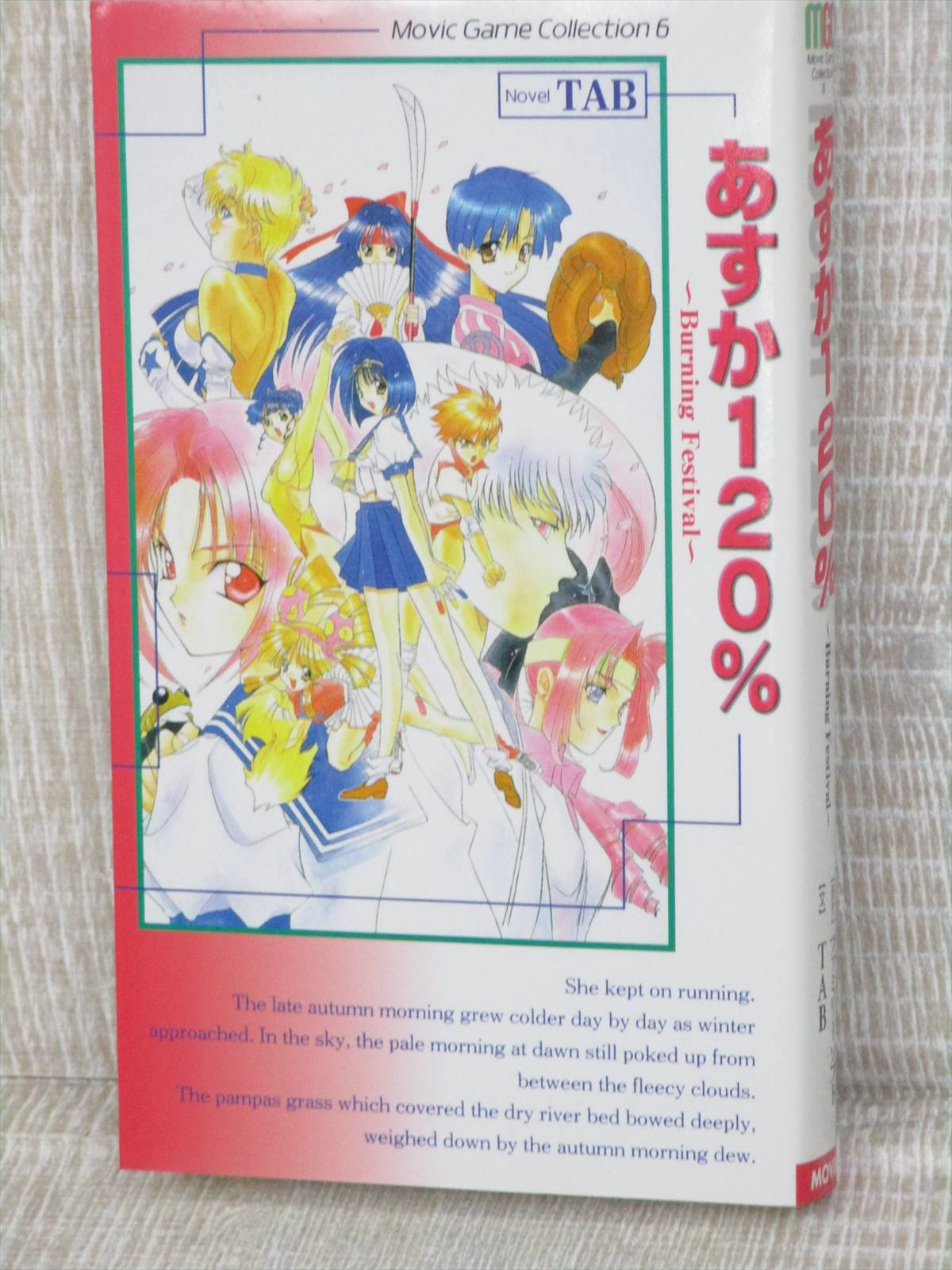 Details about ASUKA 120% Burning Festival Novel Japan 1998 Book MV35