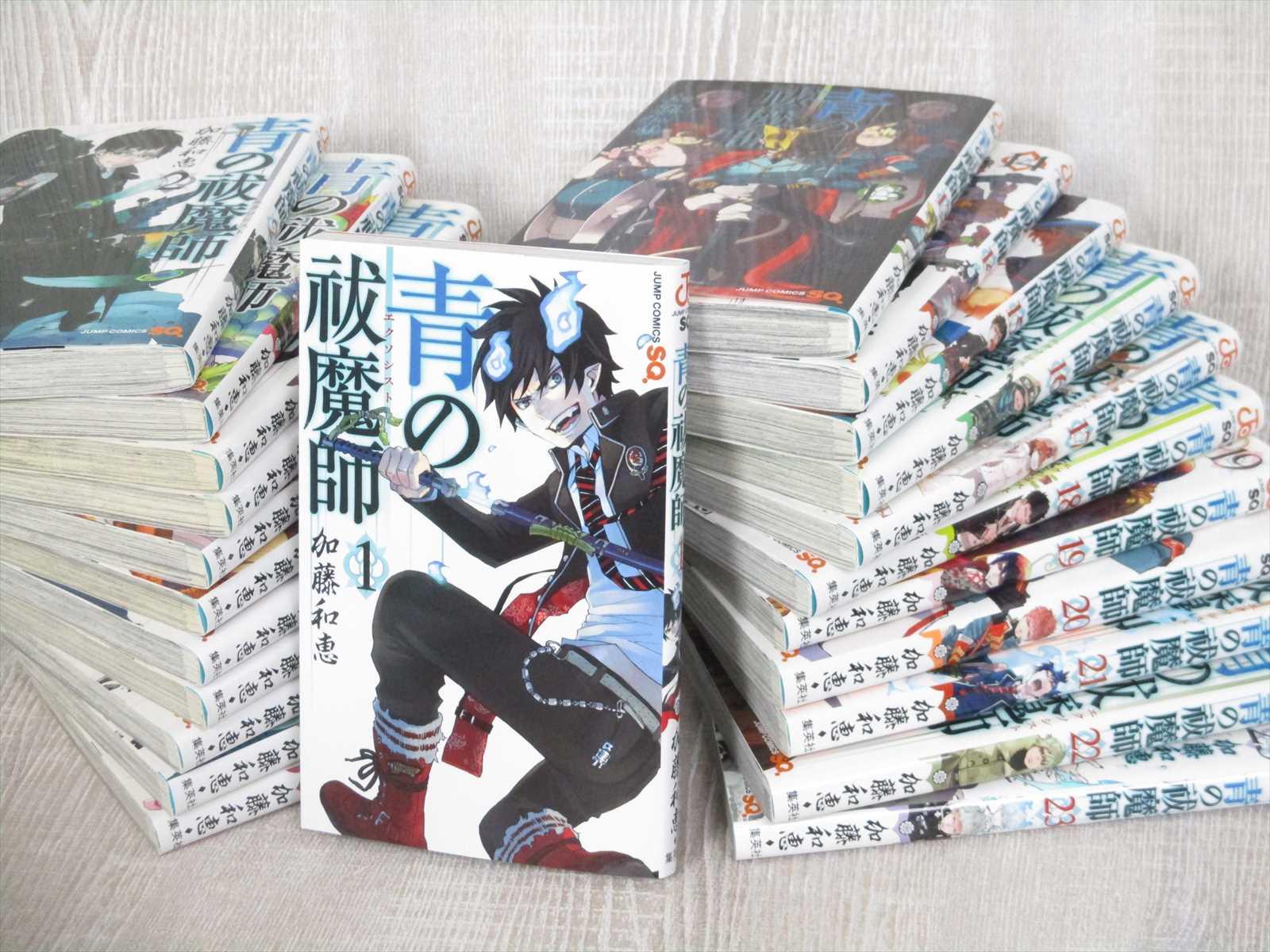 Blue Exorcist Vol 1 23 Manga Comic Japan Book Kazue Kato 23 Books Set Sh Ebay