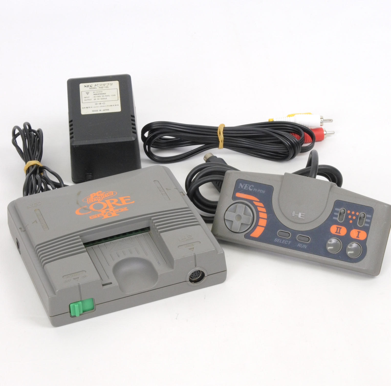 Details about PC-Engine CORE GRAFX II 2 PI-TG7 Console System Ref/15065793A  JAPAN Tested