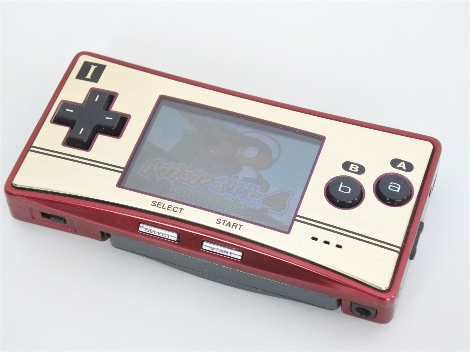 Détails sur Junk Not Working Game Boy Micro Famicom Version Happy Mario Console OXY 001 2470